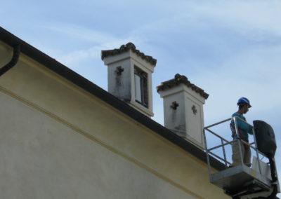 Sito Roof-Top con camuffamento antenne