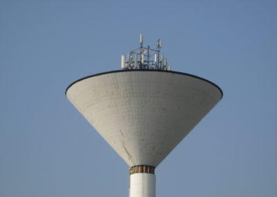 Sito Roof-Top colocato su torre piezometrica