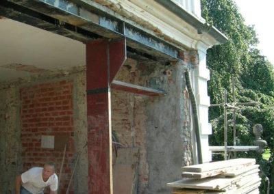 Villa del '700 - Carpenteria metallica