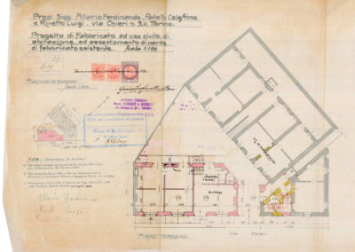 Casa in Borgo Po - Documentazione storica
