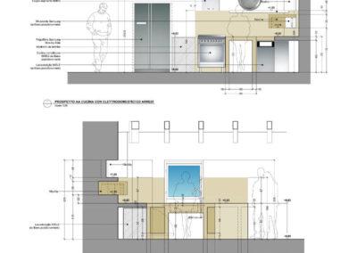 Casa in Borgo Po - Progetto cucina