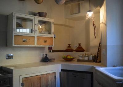 Casa in Borgo Po - Cucina in muratura