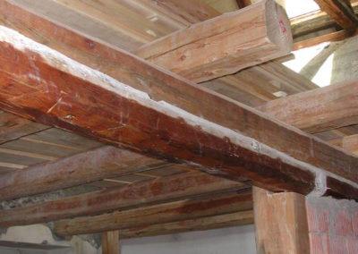 Maison du Village - Recupero dei solai in legno
