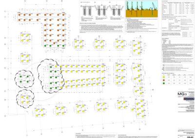 Palazzina Uffici One Martini - Progetto fondazioni