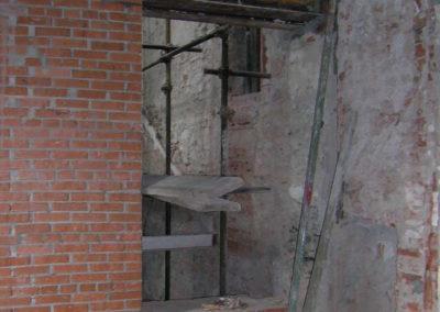 Villa del '700 - Rinforzi strutturali