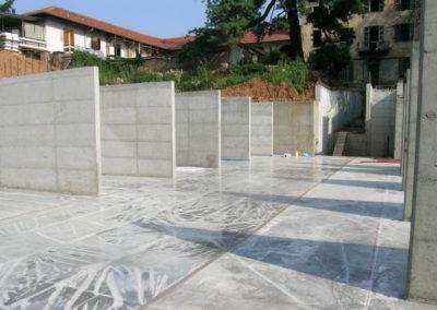 Villa Giovine - Parcheggi interrati