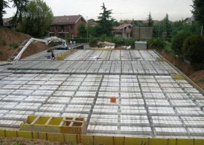 Villa Giovine - Parcheggi interrati - Solaio