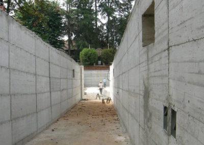 Villa Giovine - Parcheggi interrati - Cunicolo