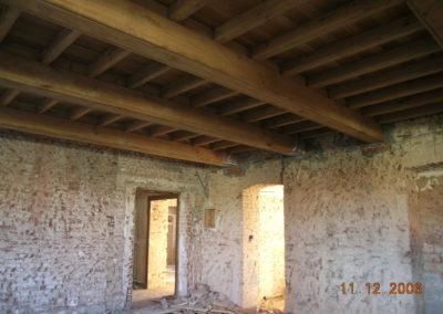 Villa Giovine - Solai in legno