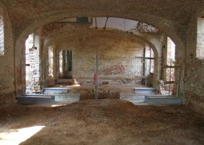 Villa Giovine - Sottofondazioni