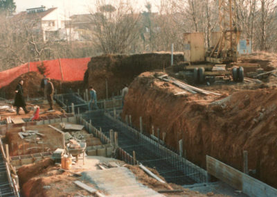 Casa unifamiliare a Borgosesia VC - Cantiere
