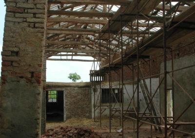 Cascina a Pino T.se - Stato ante operam manica rurale