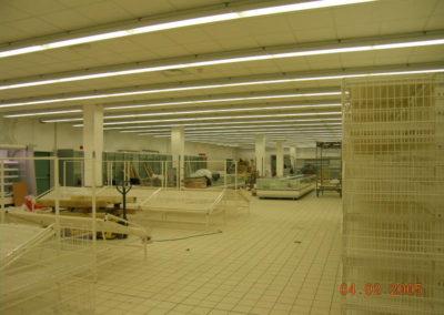 Supermercato GS di Lonate Pozzolo VA - Lavori interni