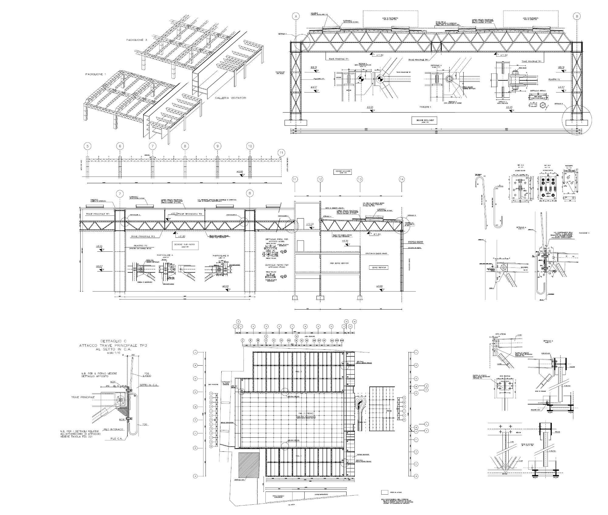 Lingotto - Progetto di massima strutturale