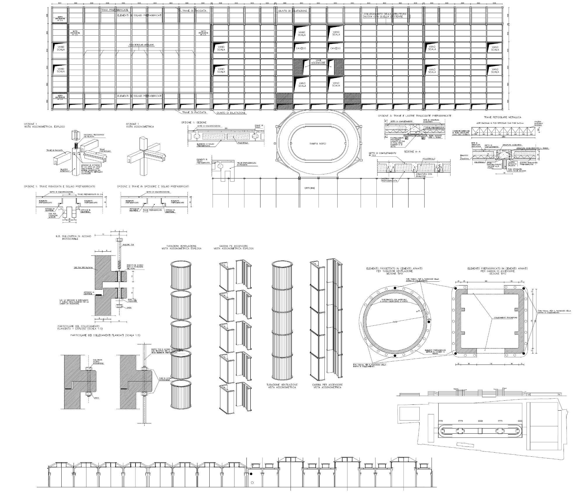 Lingotto mg3 progetti for Progetto di ristrutturazione