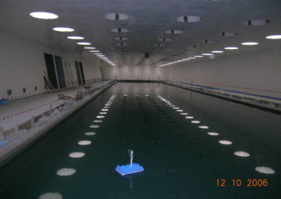 Palanuoto - Prova di tenuta piscina di allenamento