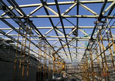 Palanuoto - Montaggio carpenteria copertura