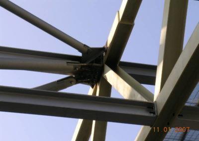 Palanuoto - Dettaglio carpenteria copertura