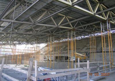 Palanuoto - Fasi di montaggio copertura